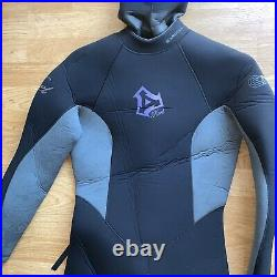 Excel Womens Full Dry Suit Scuba Diving Thermo Barrier 8-7-6 WN8765H8 E1 Drysuit