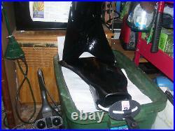 Force Fins Black With Bungie Straps Size XL Scuba Diving Snorkeling Drysuits
