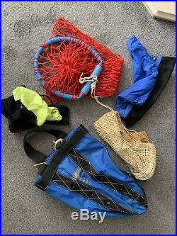 Full Scuba Diving Kit inc Dui dry Suit 4 cylinders, Regulators BCD Reel etc