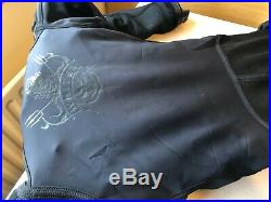 Fusion Bullet Drysuit (Whites/Aqua Lung) L/XL only seen 3 dives beautiful