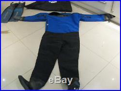 Gates Diving Scuba Dry Suit Mens Large