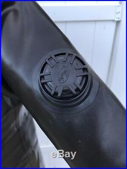 Gates Pro AM 1050 Vulcanized Rubber SCUBA Drysuit (L) Pro diving range bag