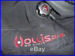 HOLLIS DX300X scuba dive diving tec DRYSUIT dry suit mens xl