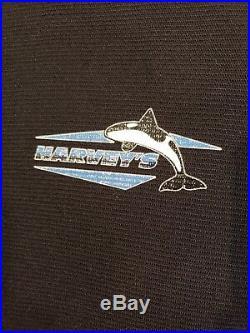 Harvey's Neoprene Scuba Diving Drysuit Blue Men's Size 2XL short