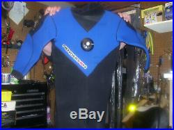 Henderson NEOPRENE RUBBER Dry Suit With SI Tech Valves 4 SCUBA DIVING LG OR XL