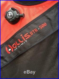 Hollis 500 Btr Trilaminate scuba drysuit