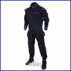 Hollis BX200 Biodry Rear Entry Drysuit for Scuba Diving CLOSEOUT Size XS X-Small