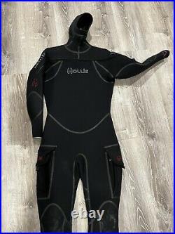 Hollis Neotek Semi-dry 8/7/6 Scuba Wetsuit / Drysuit