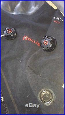 Hollis Scuba Diving Drysuit Fx100 Biodry Ladies Small- Used Once