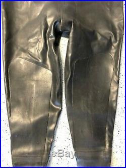 Hunter Pro AM 1050 Vulcanized Rubber SCUBA Drysuit (EXL) with Bag Very Good
