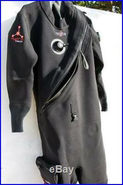 Hydrotech PREDATOR 2 Neoprene Scuba Diving Dry Suit Size ML Made in UK