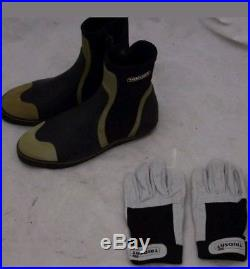 Job Lot of Scuba Diving Equipment Dry suit Gloves Boots 250