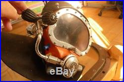 Kirby Morgan mk10 band mask/scuba dry suit wet suit