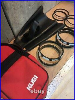 Kubi scuba diving drysuit glove fitting rings, cuff side only