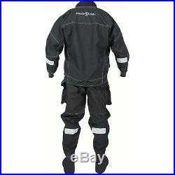 LO3 Aqualung DRYSUIT ALASKAN neophrene boots size M MEDIUM