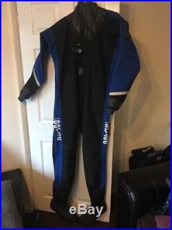 L@@k! Oceanic Scuba dry suit XL Membrane + Otter Bag
