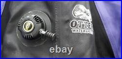 Ladies Otter Watersports Diving Drysuit size 6 boot scuba