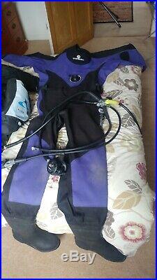Ladies Scuba Diving BCD, Dry suit, Regulator and Dive Computeruba Diving