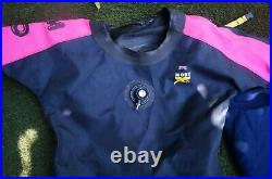 Ladies Scuba Drysuit and thermal inner suit Moby size small needs seals
