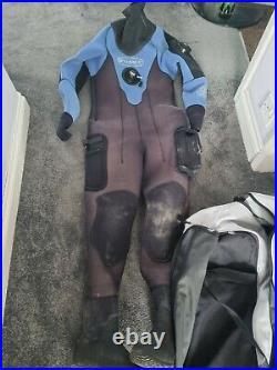 Ladies Size 8 Scuba diving dry suit