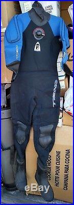 MINT COND! O'NEILL 7mm 7000X SCUBA Drysuit Women Sz 8 or 10 fits Men's XS