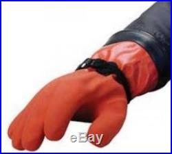 Maximum Dexterity DUI Scuba Diving ZipSeal Gloves Small