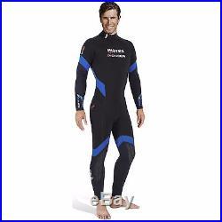 Men's 7mm Mares PIONEER Scuba Diving Semi Dry Backzip Wet-suit with FREE Hood
