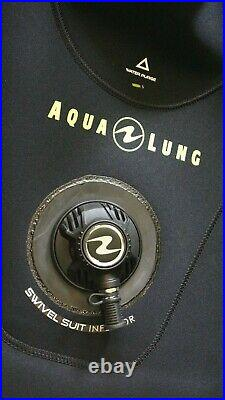 Men's AQUALUNG Blizzard Pro 4mm Drysuit With Boots Size 54 / L Large