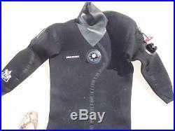 Men's Scuba Dry Suit Henderson Size Extra Large