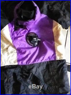 Mobby's Drysuit Cover SMALL S WITH BOOTS Water Gear Scuba Diving Equipment
