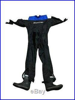 Mobbys Armor Shell Drysuit Medium for Cold Water Scuba Diving Suit Boot 8.5