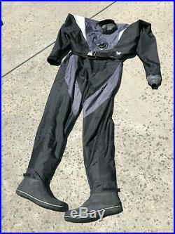 Mobbys Armour Shell Drysuit Size XL, Scuba Dive