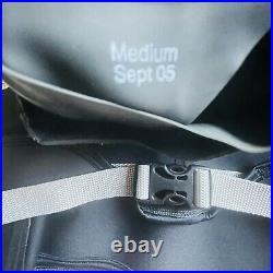Mountain Surf Drysuit Jacket with Supsender Pads Scuba Water Medium Men EUC