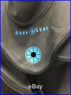NEW Aqua Lung Fusion Bullet Drysuit SKIN Cover Size SM/MD Scuba diving aqualung