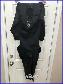 NEW Aqua Lung Fusion Tech Drysuit SKIN Cover Size SM/MD Scuba diving aqualung