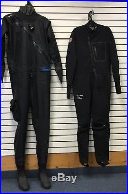 NEW DUI Yukon Scuba Drysuit with Flex 190 Thermals Size Large