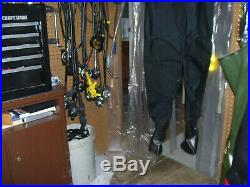New Os Systems Scuba Diving Drysuit Rubber Seals & Socks USA Made See Listing
