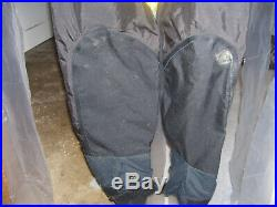 New Os Systems Ulpro Scuba Diving Drysuit With Rubber Seals Front Entry Sz Large