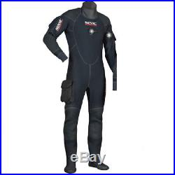 New Seac Mens Sub Warmdry Scuba Suit Rrp £699 Drysuit Warm Dry