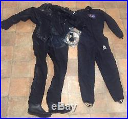 New USIA AQUA DELUXE DIVING DRY SUIT insulated scuba drysuit wet Front Entry M