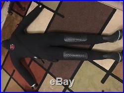 Northern Diver CNX25 Scuba neoprene rubber Drysuit Men Large seals zipper good