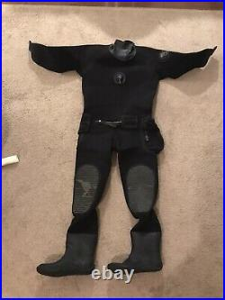 Northern Diver Commercial Diving SCUBA Compressed Neoprene Drysuit L US11