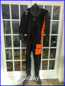 Northern Diver Cortex 3 Front Entry Drysuit Scuba Diving 6'2 perfect fit MLT