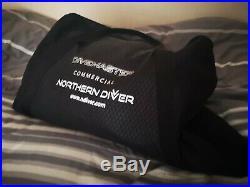 Northern Diver Divemaster Commercial Drysuit Size M-Tall Scuba Diving Medium