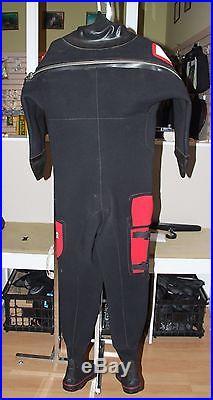 Northern Diver Divemaster Neoprene Scuba Drysuit Size Small
