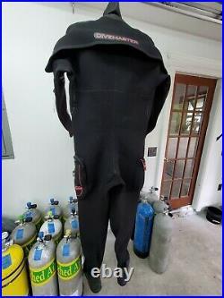 Northern Diver Divemaster SCUBA Dry Suit (Large)