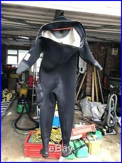 Northern Diver Dry Suit. Scuba diving suit Size Medium (size 10 Feet)