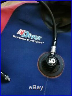 Northern Diver Euro Drysuit scuba diving dry suit large