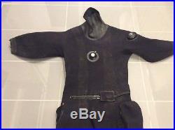 Northern Diver Ex Royal Navy Compressed Neopreme Scuba Diving Dry Suit Size M L