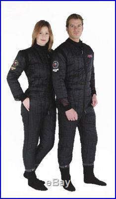 Northern Diver Flectalon 100g Womens XL Scuba Diving Drysuit Thermal Undersuit